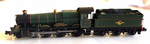 Dapol 2S-019-006D BR Grange 6803 Bucklebury Lined Grn Late Crest(DCC-Fitted